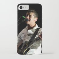 arctic monkeys iPhone & iPod Cases featuring Alex Turner // Arctic Monkeys by Hattie Trott
