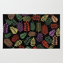 Colorful branches 2 Rug