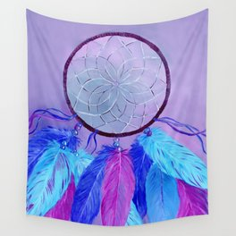 Dream Catcher Hand Painted Design Wall Tapestry