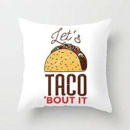 TACO Throw Pillow