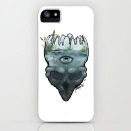 Mental Lakes iPhone Case