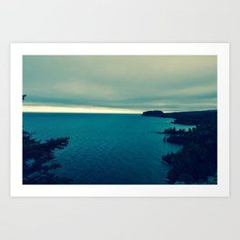 The North Shore Art Print