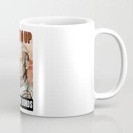 Back 'Em Up -- General Eisenhower Coffee Mug