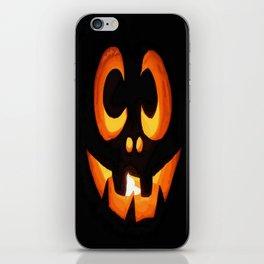 Vector Image of Friendly Halloween Pumpkin iPhone Skin