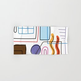Modern design art and perfect living.No.02 Hand & Bath Towel