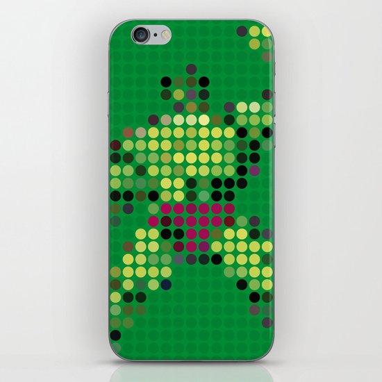 Mr Green 1 iPhone & iPod Skin