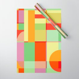 Sunset Quilt Wrapping Paper