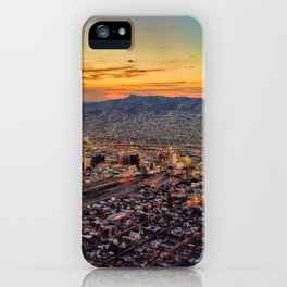 Sunset City iPhone Case