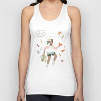 cancer Tank Tops featuring Cancer by LordofMasks