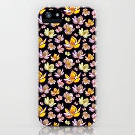 Cute Bright Floral Print iPhone Case