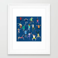 The Dancers Framed Art Print