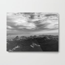 Chisos Mountains Metal Print