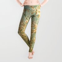 spring Leggings featuring Spring by Cassia Beck