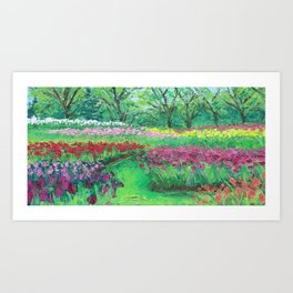 """May at the Carillon"" Art Print"