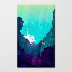 Ocean Cat Canvas Print