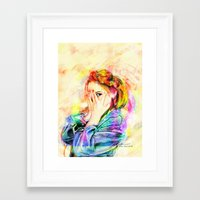 snsd Framed Art Prints featuring Hide & Seek by Kimberly Phan