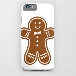Gingerbread Hugs iPhone Case