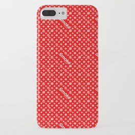 Red Smoké Royal Stain iPhone Case
