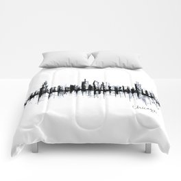 Chicago Skyline Comforters