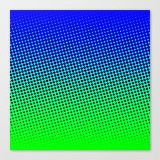 80's grade blue Canvas Print