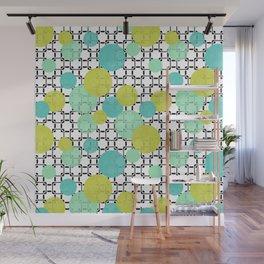 Fashion trends , polka dot 4 Wall Mural