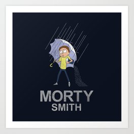 Morty's Salt Art Print