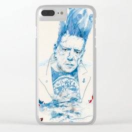 Johnny Rotten Clear iPhone Case