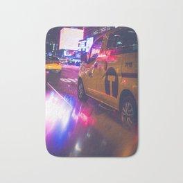 Taxi NYC Life (Color) Bath Mat