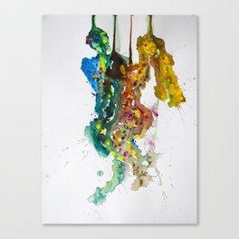 Aquarel Love Canvas Print