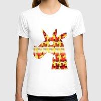 plaid T-shirts featuring Plaid Unicorn by That's So Unicorny