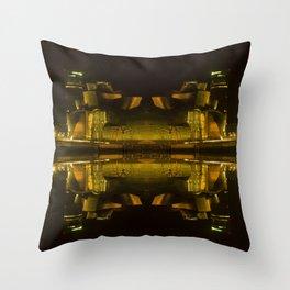 Abstract Guggenheim Throw Pillow