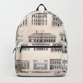 Palazzi di Genova 1622 Backpack