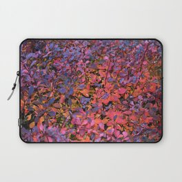 Colorful Fall Leaves Laptop Sleeve