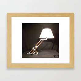 Articulated Desk Lamps - Copper and Chrome Collection - FredPereiraStudios_Page_05 Framed Art Print
