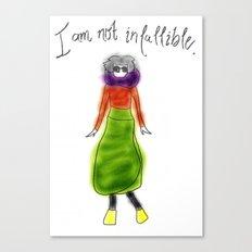 Skirty Canvas Print