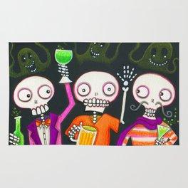 Halloween Happy Hour Rug