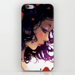 Les fleurs rouges... iPhone Skin