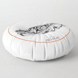 Crazy Car Art 0222 Floor Pillow