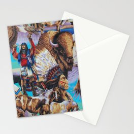 American Native Pattern No. 199 Stationery Cards