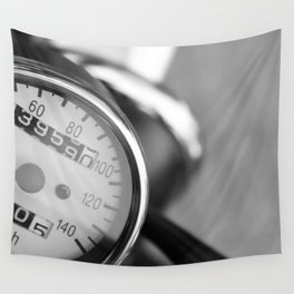 Speedometer Wall Tapestry