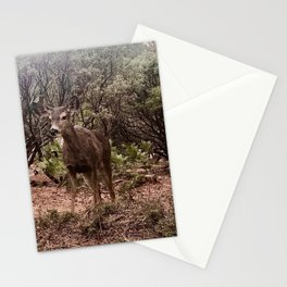 I found Bambi in the misty forest Stationery Cards