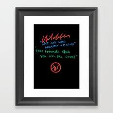 Hilditch Framed Art Print