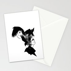 Freedom for my crows... Stationery Cards