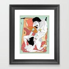 Sex Needs Framed Art Print