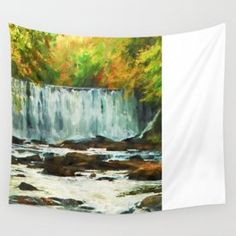 Autumns Chill Wall Tapestry