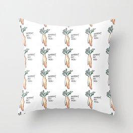 Real Throw Pillow