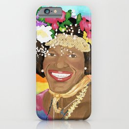 Marsha P Johnson iPhone Case