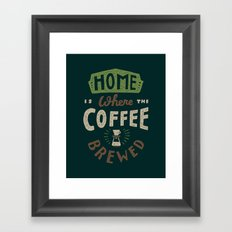 Home is Where Framed Art Print