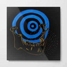 Human Jaw Metal Print