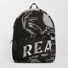 Gypsy Crystal Ball Reader Sign Backpack